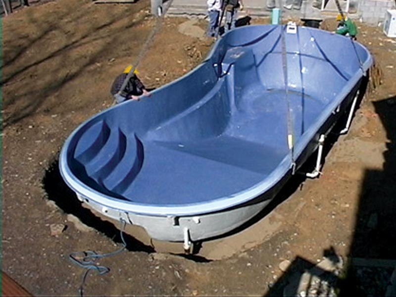 Installing Swimming Pools : Clearwater pools pool installation inground